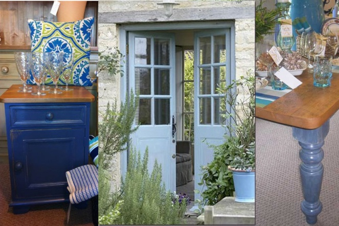 French blue can range from royal blue to weathered grey blue to washed periwinkle.
