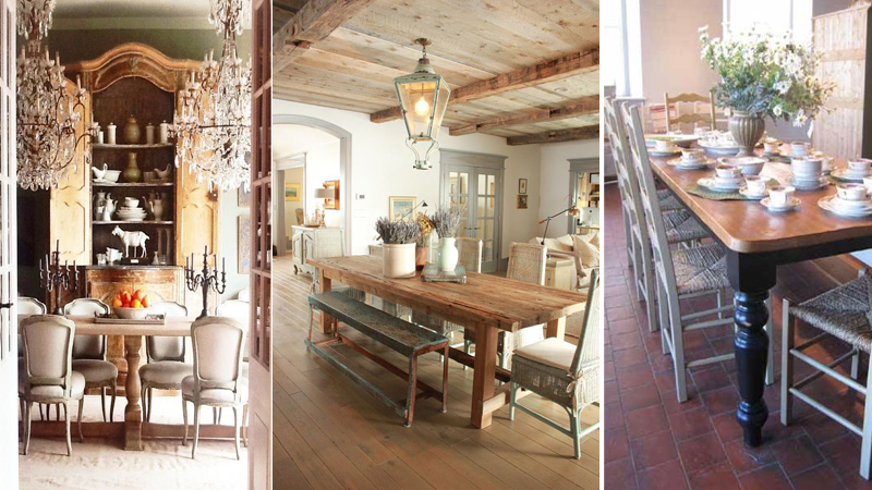French Country Decorating Elements Include Use Of Ornate, Rustic, Wood,  Painted Furniture.