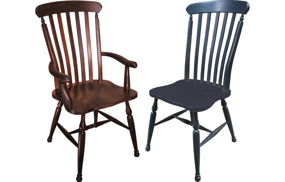 The Farmhouse Lath Back Chair Is Classic, Very Popular French Country Chair  Known As A U201cfarmhouse Windsor.u201d The Chairu0027s Classic Style Appealled To  Country ...