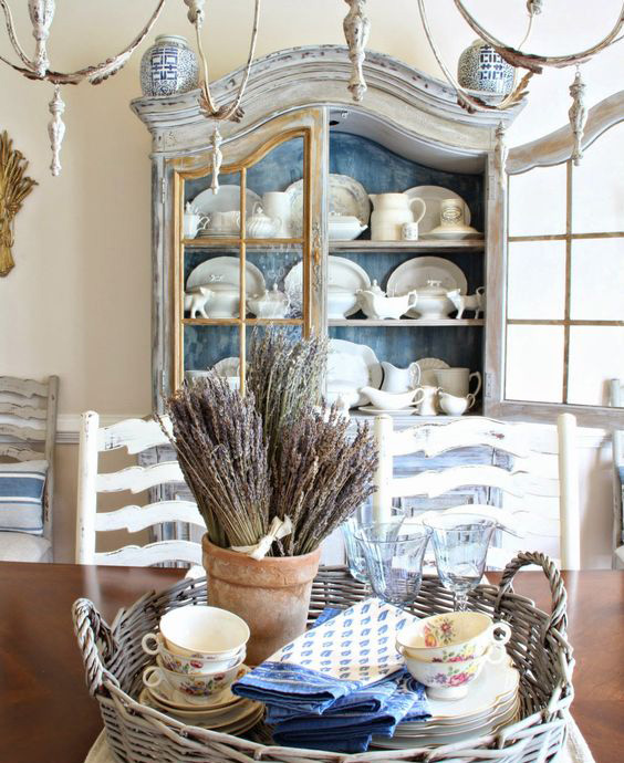 20 Country French Inspired Dining Room Ideas: Finding The Perfect French Country Dining Room Storage