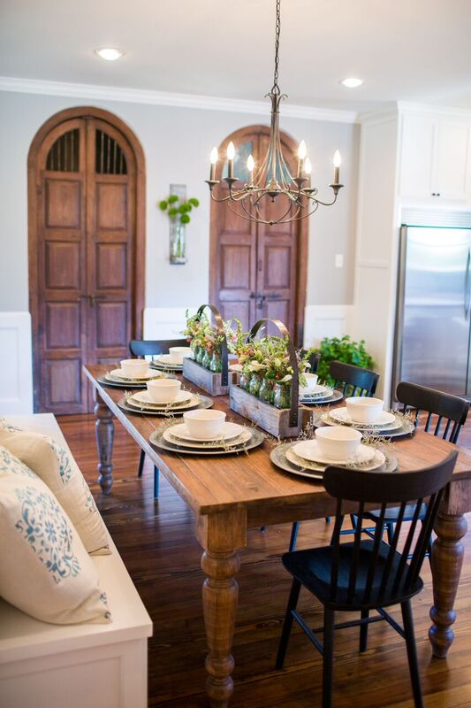 Get The Look Farmhouse Dining Room Inspired French Country