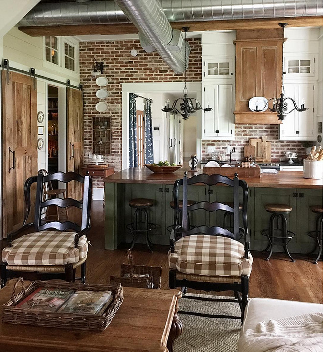 Open Concept French Country Kitchen Home Design Ideas: House Tour: A Haute French Country Home