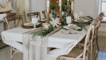 5 French Style Dining Tables Perfect For Holiday Hosting