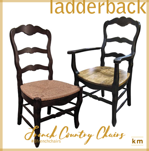 Genial 4) The Country French Ladderback Chair Is A Hallmark Of Country French  Interiors In The Regions Of Provence, Normandy, And Bordeaux.